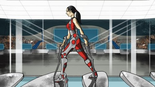 Powered Exoskeleton Race