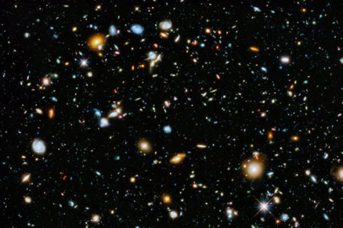 Снимок Hubble Ultra Deep Field 2014