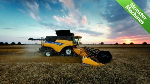 Комбайн New Holland CR10.90