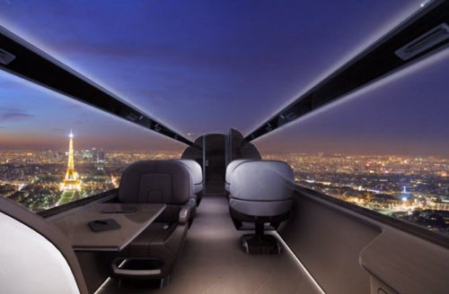 Самолет IXION Windowless Jet