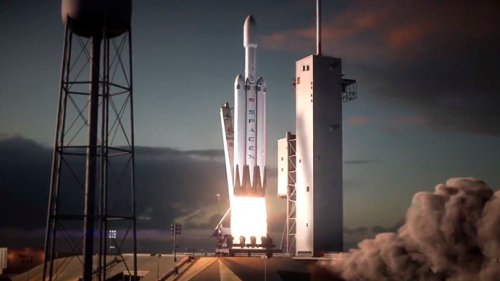 ����� ������ Falcon 9 Heavy