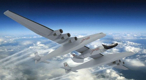 Самолет Stratolaunch Carrier