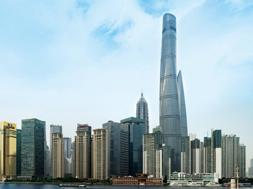 Башня Shanghai Tower