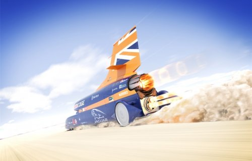Автомобиль Bloodhound SSC #2