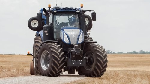 Трактор-робот New Holland