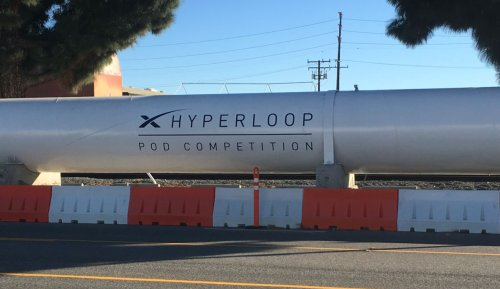 Hyperloop Pod Competition #1