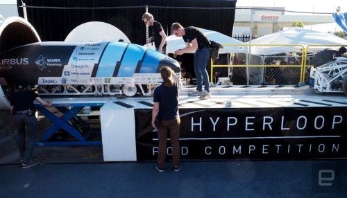 Hyperloop Pod Competition #2