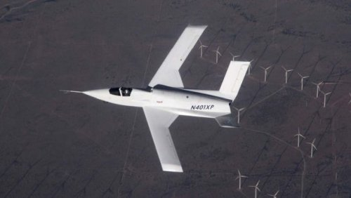 Самолет Scaled Composites X-plane Model 401