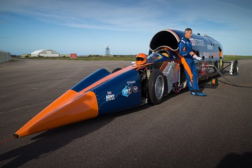 Автомобиль Bloodhound SSC #3