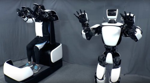 Robot T-HR3 and remote control system