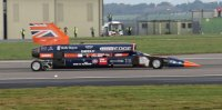 Автомобиль Bloodhound SSC