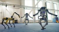Танец роботов Boston Dynamics