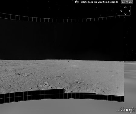 Снимок из Google Moon in Earth
