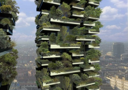 Здания Vertical Forest