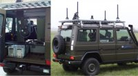 Автомобиль с системой Vehicle Protection Jammer